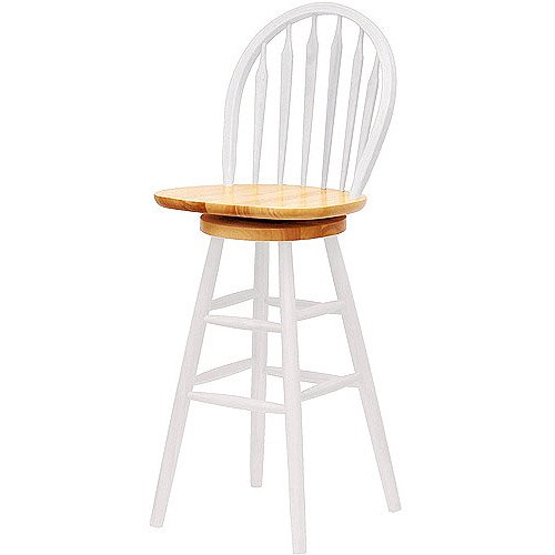 Marvelous Winsome Wood Wagner 30 Arrow Back Windsor Stool Multiple Finish Onthecornerstone Fun Painted Chair Ideas Images Onthecornerstoneorg