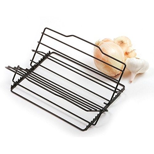 Click here to buy Nonstick Coated Adjustable Roast Poultry Turkey Meat Roasting Rack, Norpro nonstick By Norpro.