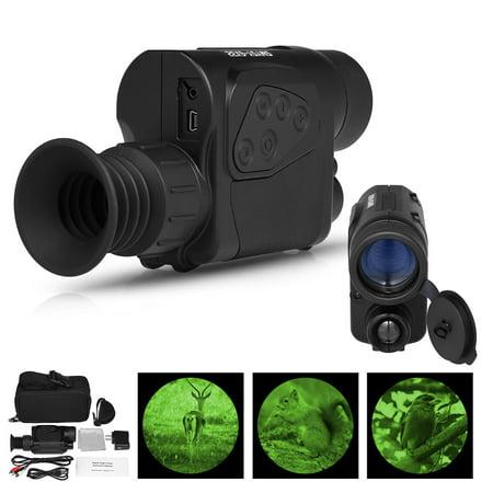 6x32 Digital Monocular Infrared Night Vision Device Telescope Camera Video