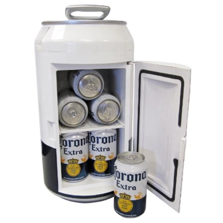 Koolatron Corona 8 Can Electric Can Shaped Beverage Cooler 110 volt & 12 volt use