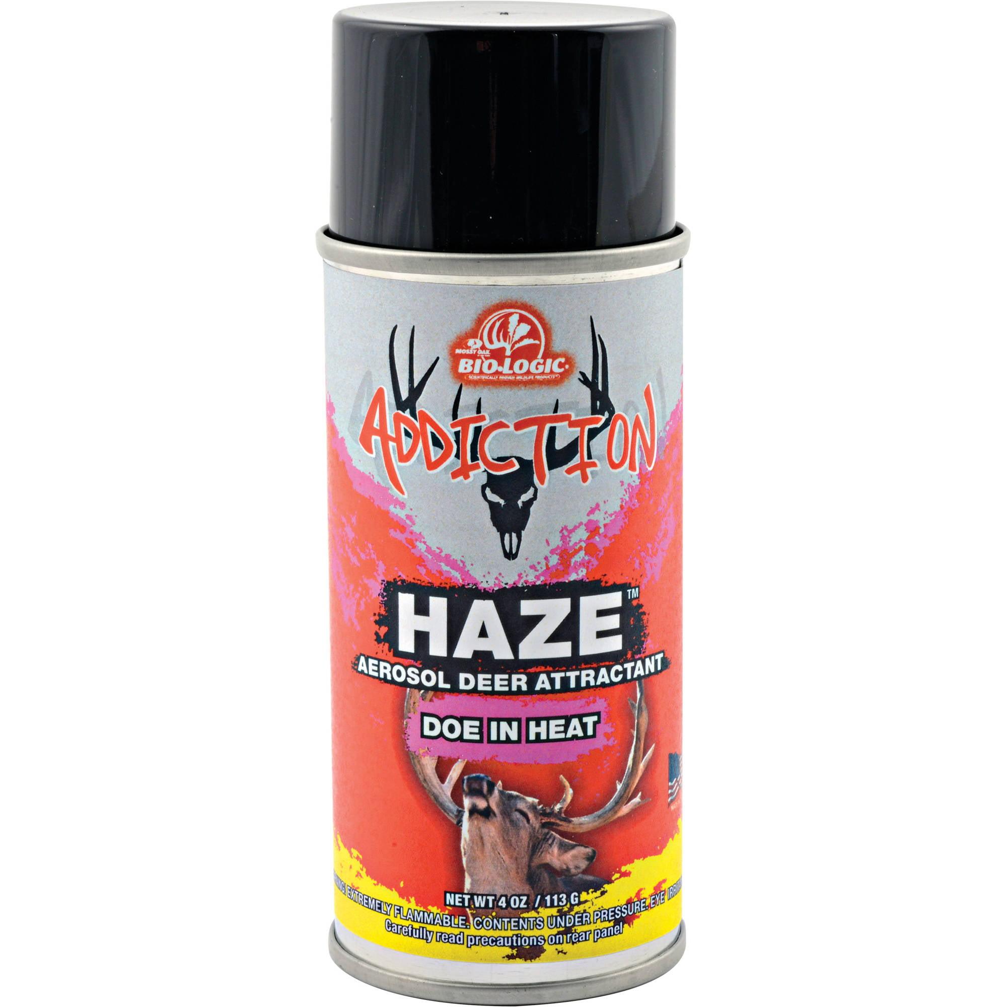 Mossy Oak BioLogic Addiction Haze 4-Ounce Aerosol Doe In Heat