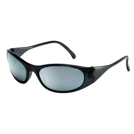 Crews F2117 Dual Lens Protective Glasses, S, Framed Frost Black Frame, Duramass Hardcoat, (America Eye Glasses)
