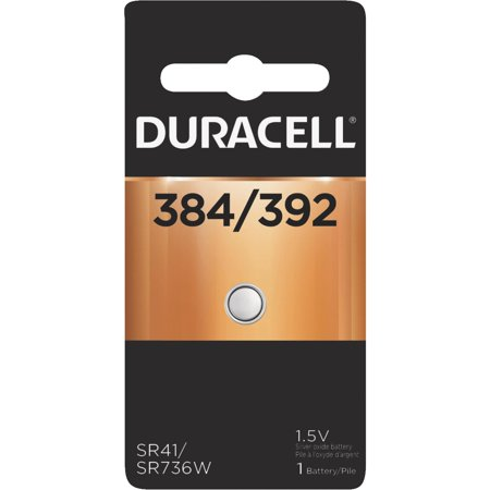 3 X Duracell 384/392 Silver Oxide Button Cell Battery