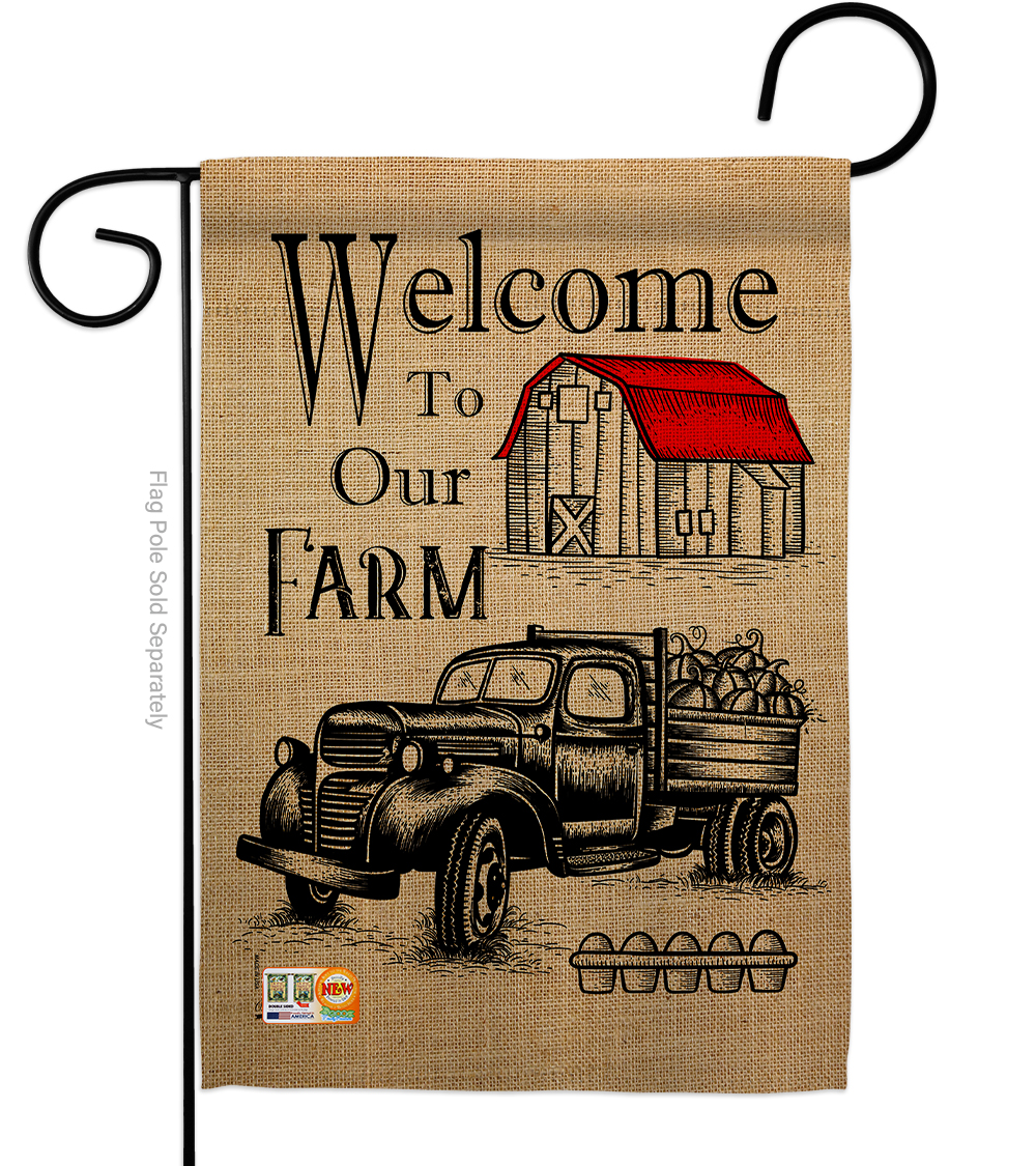 Details about  /Welcome Back Garden Flag Education to School Decorative Gift Yard House Banner