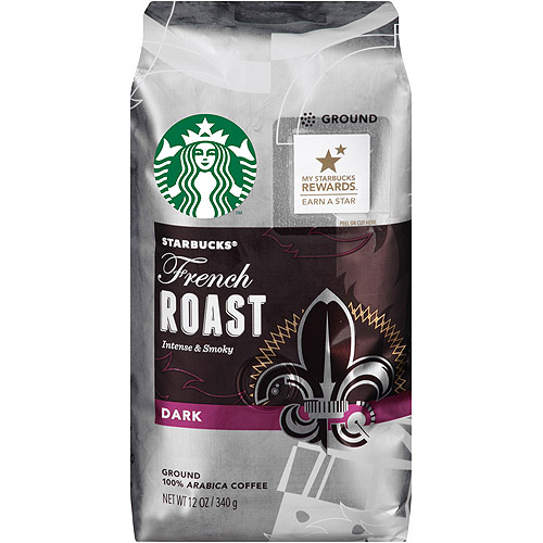 Starbucks French Roast Ground Coffee, 12 oz