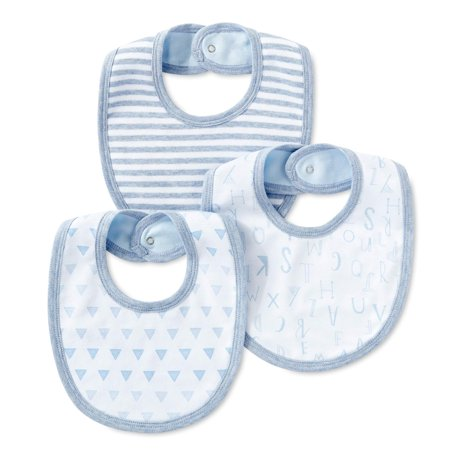 - Cotton Bibs, 3pk (Baby Boys)