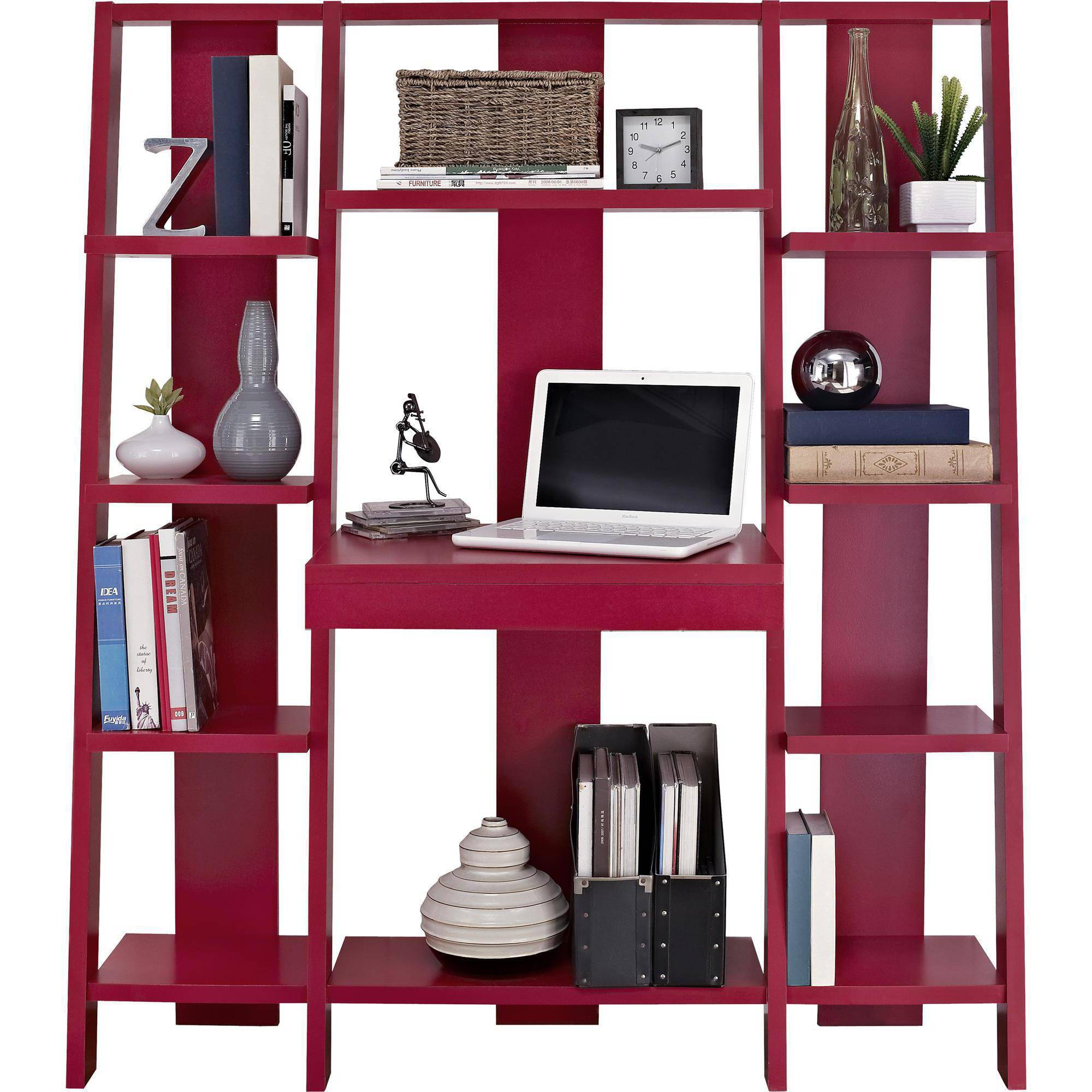 Ameriwood Home Gradient Ladder Desk/Bookcase, Espresso   Walmart.com