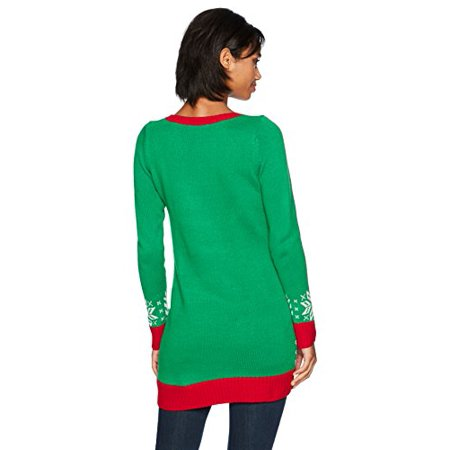 Blizzard Bag - Blizzard Bay Women's L/s Tunic Bah Hum Pug, Cloverfield, L