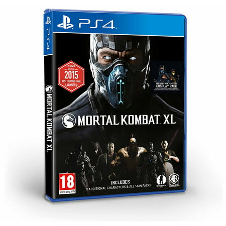 Mortal Kombat XL (PS4) Playstation 4 The Ultimate Experience (Brand New Factory Sealed) (Kitana From Mortal Kombat)