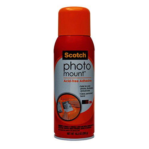 3M 30070 Scotch 6094 Photo Mount Spray Adhesive, 10.3 oz. by 3M