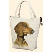 Dachshund Canvas Carryall by Fiddler's Elbow - T701FE
