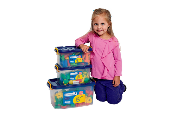 Excellerations Preschool Manipulatives Set of 3 (Item # NPRESET) by