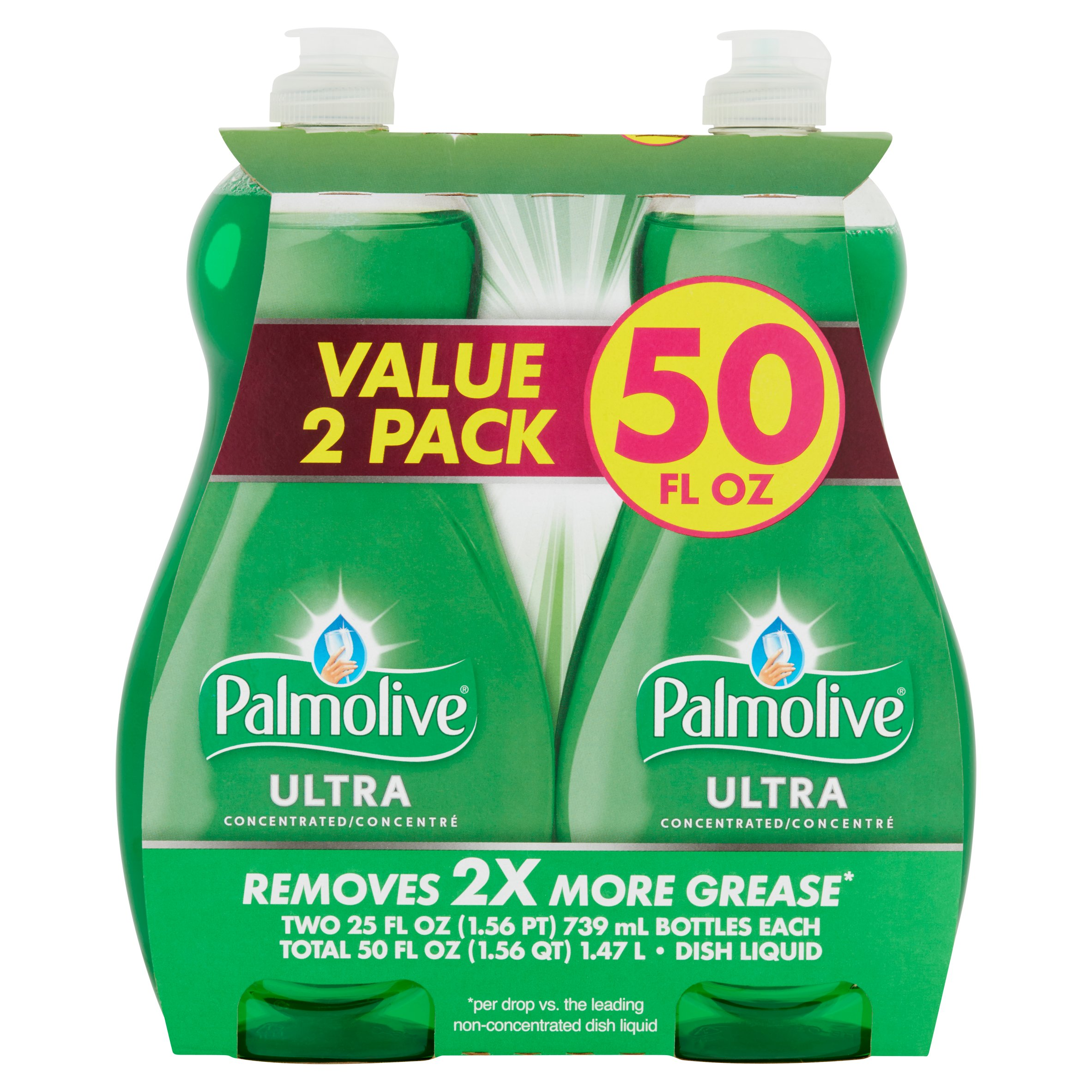 Palmolive Ultra Dish Liquid, Original, 25 fl oz Twin Pack