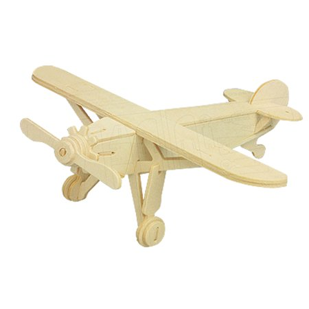 Model Plane (DIY Lover Wooden Assemble Louis Plane Model Construction Kit Toy)