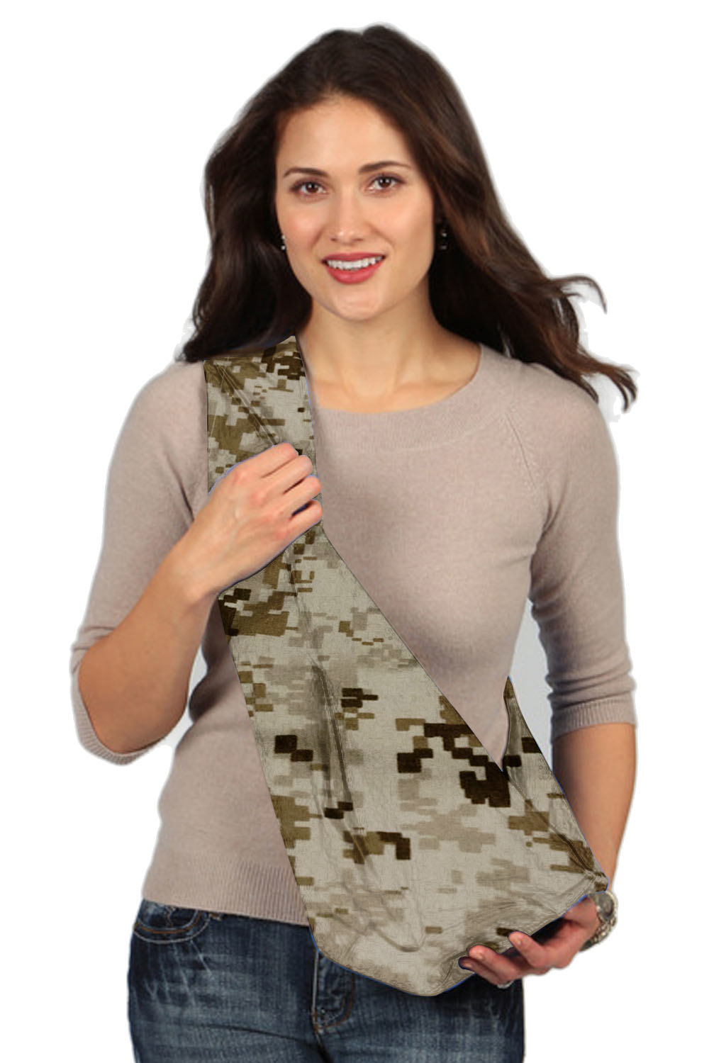 Karma Camouflage Military Soft Carrier Baby Sling, Brown by Karma Baby