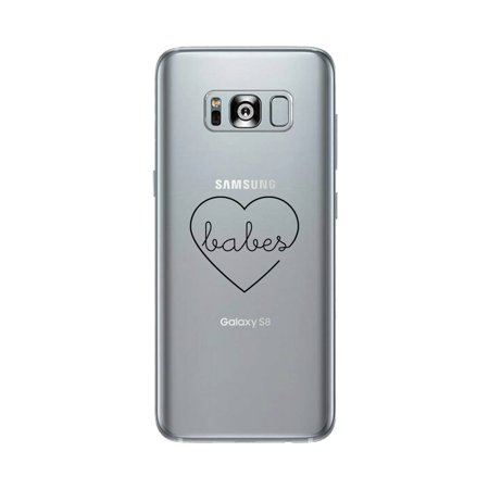 Best Babes-Right Best Friend Matching Clear Phone Case For Galaxy