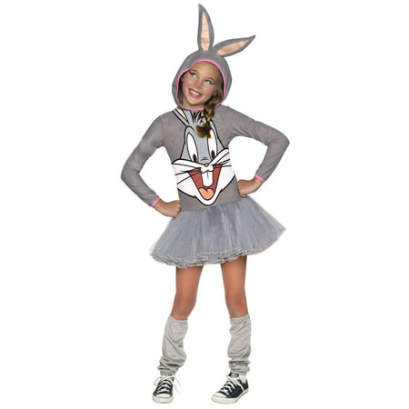 Looney Tunes Bugs Bunny Hooded Costume for - Baby Looney Tunes Halloween Costumes