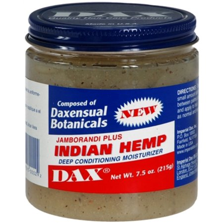 Dax Jamborandi Plus Indian Hemp Deep Conditioning Moisturizer 7.50 oz (Pack of 6)