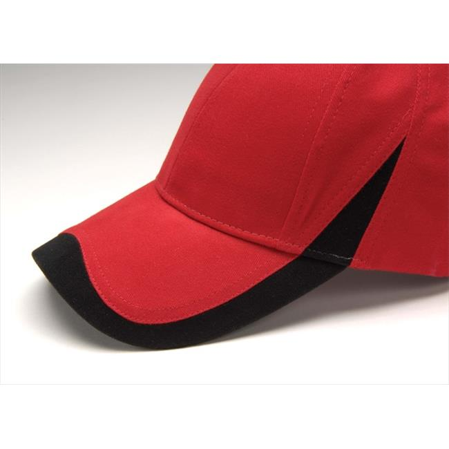 Image of Adams Wave Cap - Red/Black - One Size