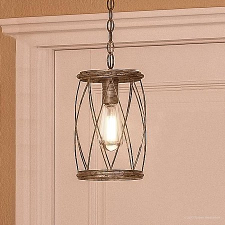Urban Ambiance Luxury French Country Pendant Light, Small Size: 11.25