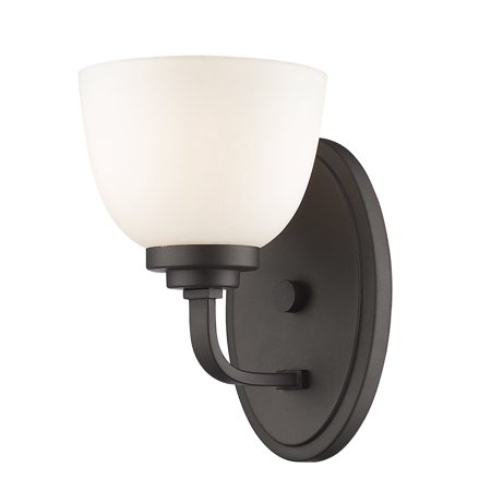 New zlite Product  Ashton Collection 1 Light Wall Sconce in Bronze Finish Sold by VaasuHomes