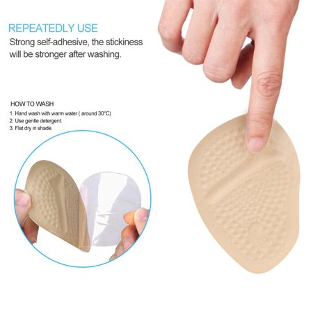 HURRISE 2 Pairs Anti-slip Ball of Foot Cushions for Women's High Heel Cushions and Comfort Size - image 2 of 8