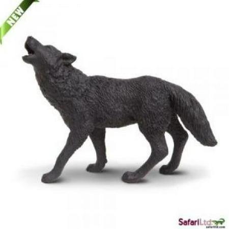 Safari Ltd Wild Safari North American Wildlife Black Wolf](Gone Wild Safari Halloween)