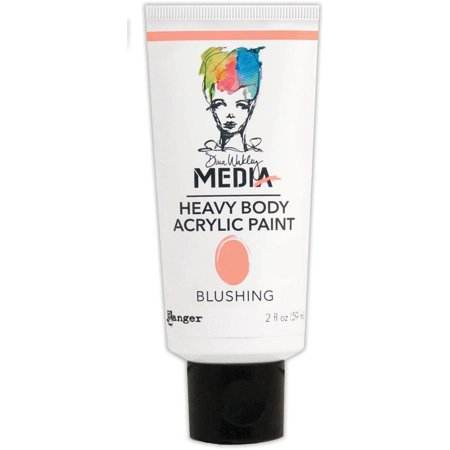 Dina Wakley Media Heavy Body Acrylic Paint  2 Oz