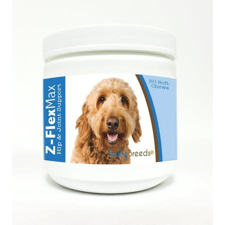 Healthy Breeds Goldendoodle Z Flex Max Hip   Joint Soft Chews 50 Count