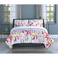 Inspired Surroundings, (3) Piece Queen Comforter Set - Lovely Flowers