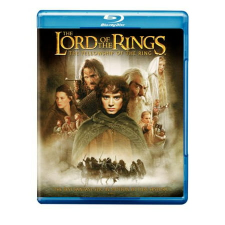The Lord Of The Rings  The Fellowship Of The Ring  Blu Ray   Dvd