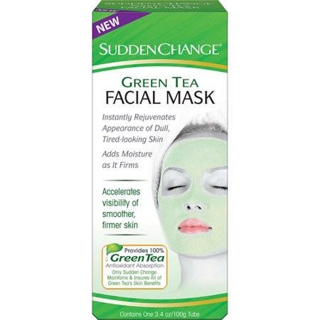 Sudden Change Green Tea Facial Mask, 3.4 Oz