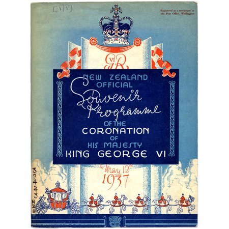 Canvas Print On May 12 1937 the Duke and Duchess of York were crowned as King George VI and Queen Elizabeth of th Stretched Canvas 10 x