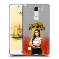 OFFICIAL WWE RONDA ROUSEY SOFT GEL CASE FOR LG PHONES 3
