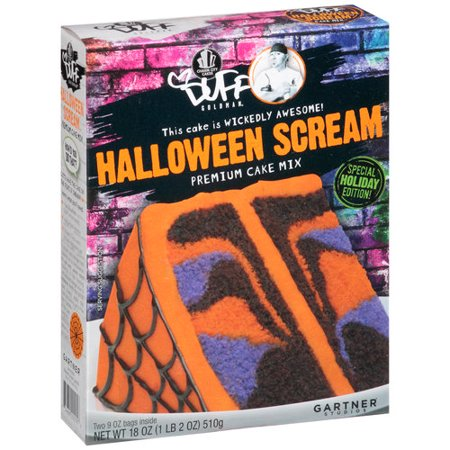 duff goldman duff halloween scream cake mix 183oz