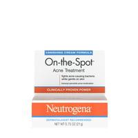 Neutrogena 2.5% Benzoyl Peroxide Acne Spot Treatment Pimple Gel, 0.75 oz