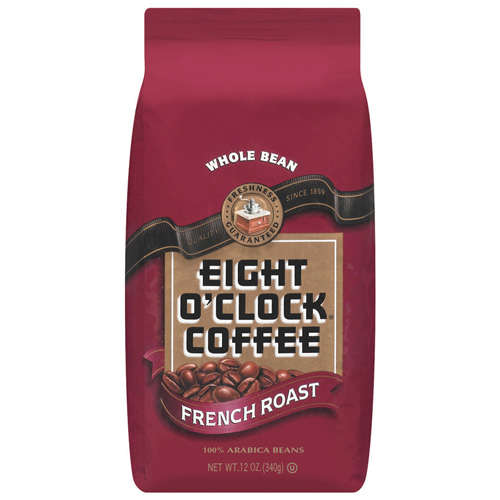 Eight O'Clock Coffee: French Roast Whole Bean Coffee, 12 oz