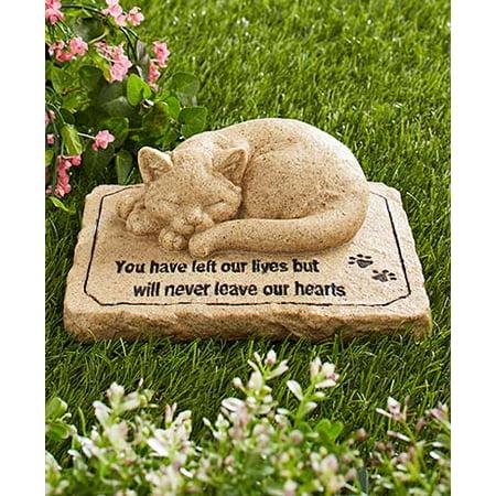 Own Pet Memorial - The Lakeside Collection Pet Memorial Stones-Cat