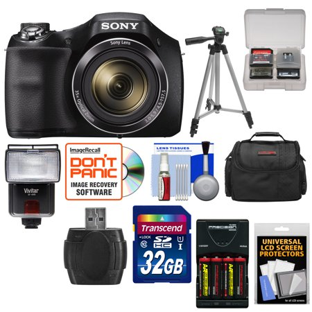 Sony Cyber Shot DSC H300 Digital Camera With 32GB Card