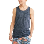 Big Men's Jersey Tank top with front Pocket Image 1 of 3