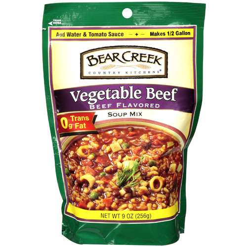 Bear Creek Country Kitchens Vegetable Beef Soup Mix, 9 oz