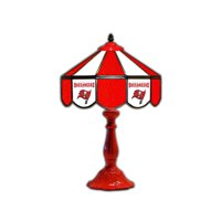 "Tampa Bay Buccaneers 21"" Glass Table Lamp - No Size"