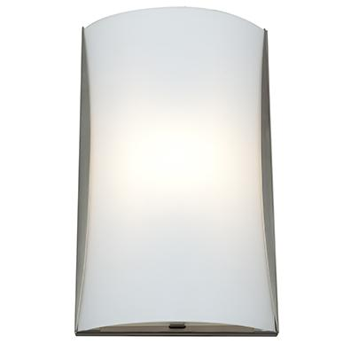 Access Lighting 62050 Wall Sconces Radon Indoor Lighting Wall Washers ;Brushed Steel   Opal by Access