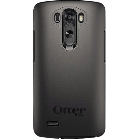 the best attitude c12da 30e12 Otterbox LG G3 Black/Black Symmetry series case - 77-44336