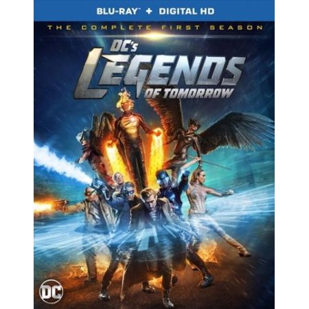 Dcs Legends Of Tomorrow  The Complete First Season  Blu Ray   Digital Hd With Ultraviolet