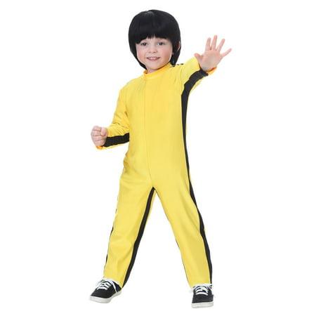 Bruce Lee Costumes Halloween (Toddler Bruce Lee Costume)