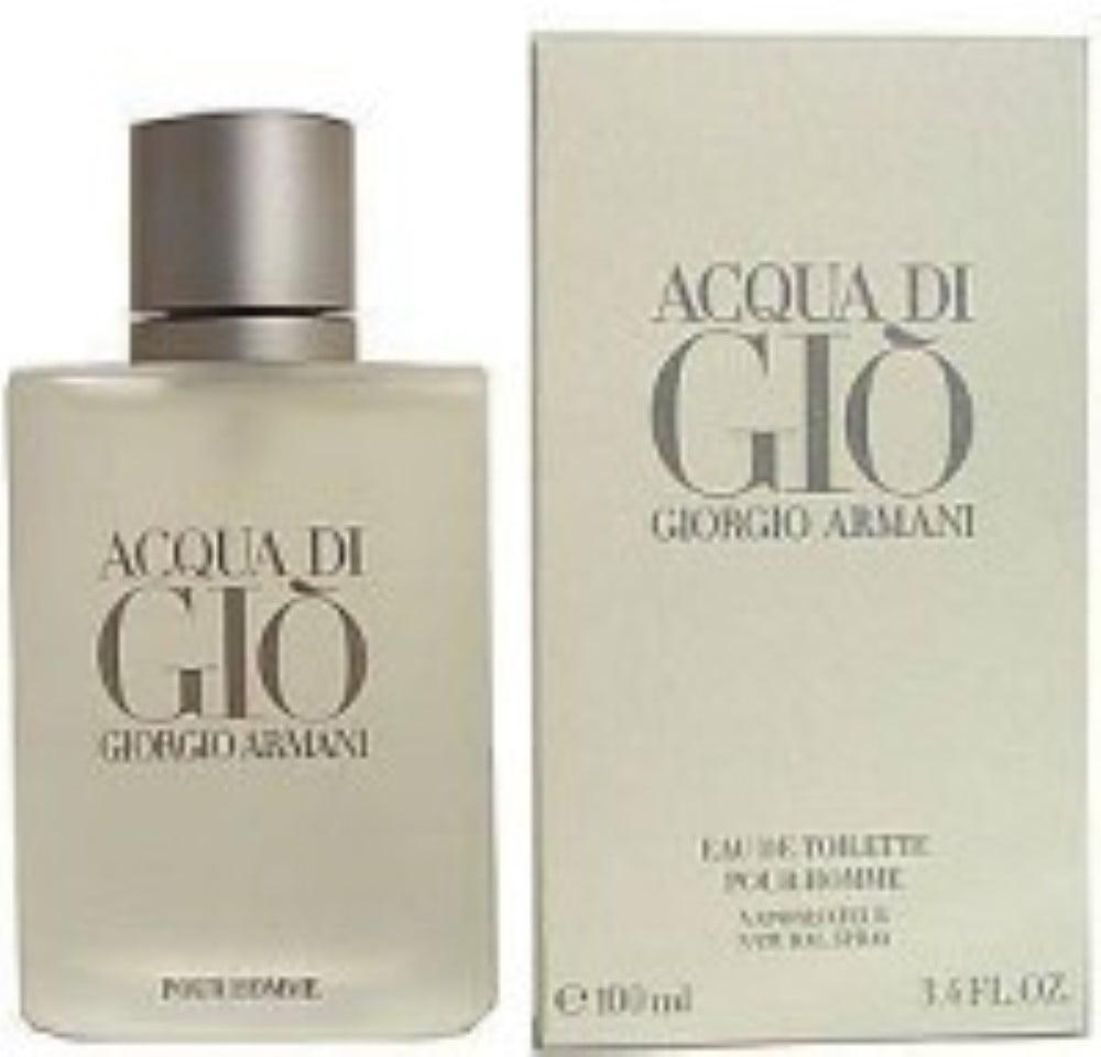 Acqua Di Gio by Giorgio Armani for Men, 3.4 oz