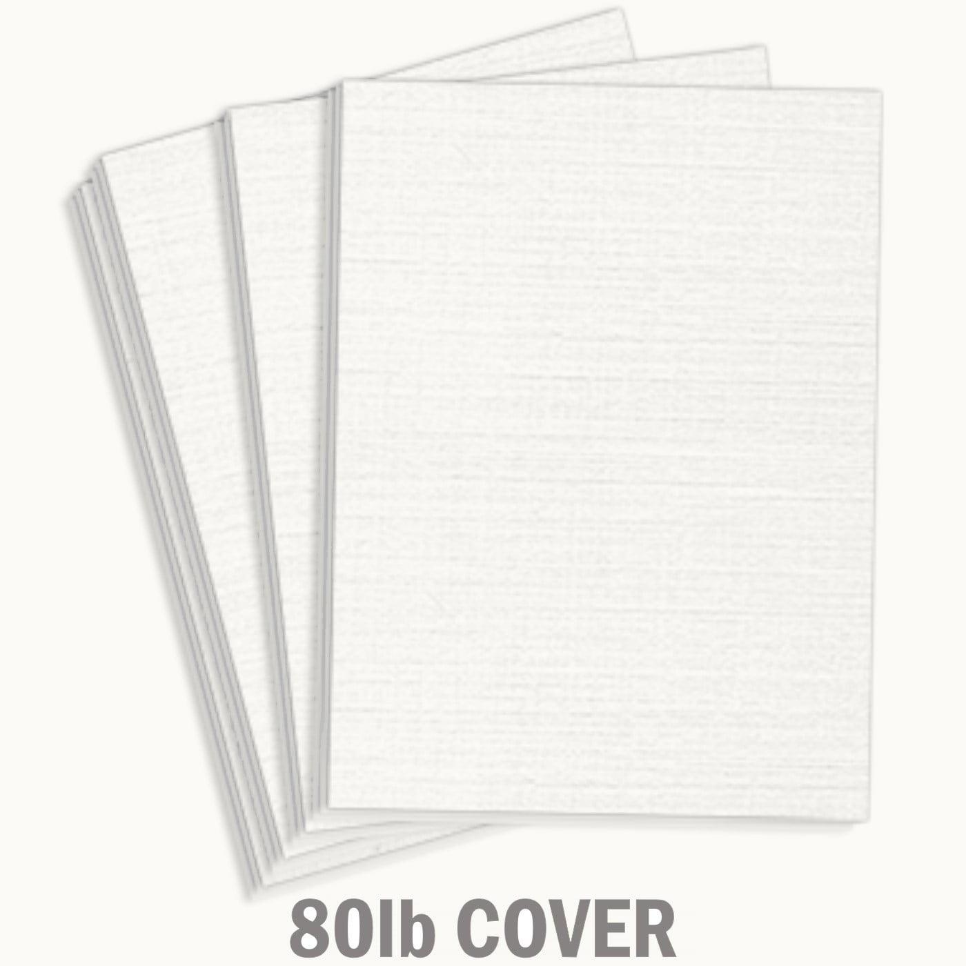 hamilco white resume linen textured cardstock paper  8 1