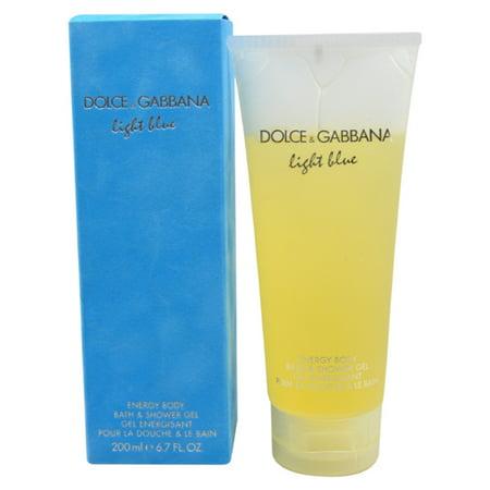 Dolce & Gabbana Light Blue Shower Gel, 6.7 Oz