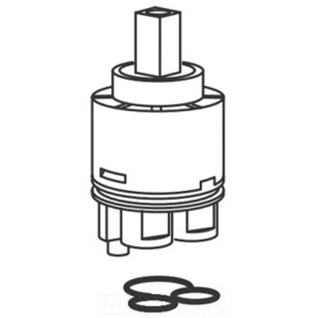 American Standard M962682-0070A Cartridge For Pekoe Extended Kitchen ...